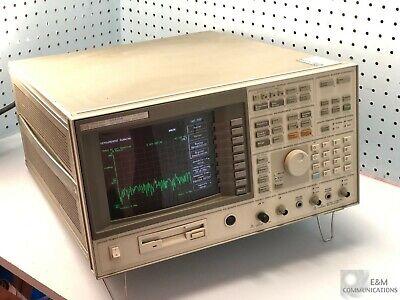 89410a Hp Vector Signal Analyzer Dc-10mhz Options Ay7 Ay9 Ufg Installed
