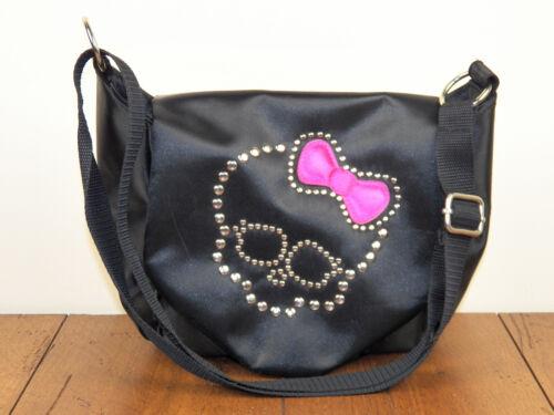 """Monster High 11"""" Handbag Black Satin Girl"""