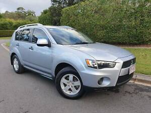 2009 Mitsubishi Outlander LS SUV - 5 YEAR WARRANTY - LEATHER Sippy Downs Maroochydore Area Preview