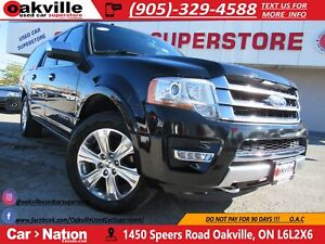 2016 Ford Expedition Max Platinum MAX | NAVI | SUNROOF | HTD/COO