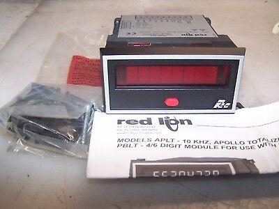 New Red Lion Aplt Totalizing 6 Digit Counter Aplt0800