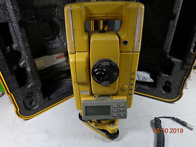 Topcon Gts-302d Gts-300 Surveying Total Station With Case - 30 Day Warranty K1