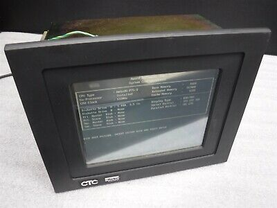 Used Nice Ctc Parker P31-3c4-a4-2a3 Touch Screen Display Module W4