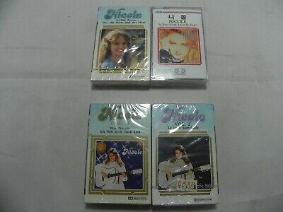 Nicole - Lot Of 4 Korea Cassette Tape / SEALED NEW