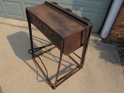 Vintage Rare Protectoseal Bench Top Parts Gas Station Mechanic Washer Metal