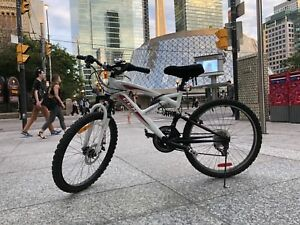 Mountain bike with accessories !