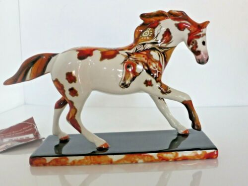 The Trail Of Painted Ponies Petroglyph Pony 12290 2009 Original Box