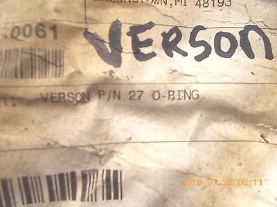 Verson Pn 27 O-ring Clip Pack Of 18