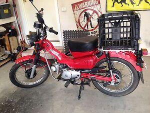 Honda CT110 Ex Postie Bike Nicholls Gungahlin Area Preview
