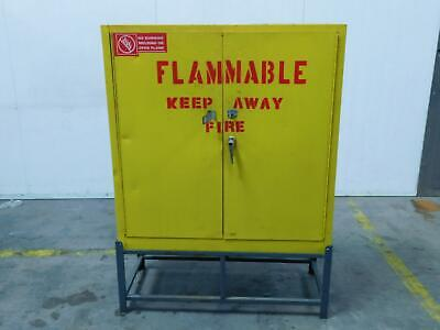 Safety Storage Flame Cabinet 30 Gallon 43x18x44 T151477