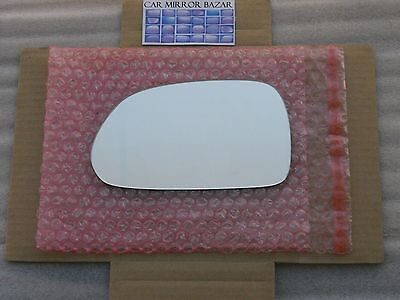 661L Replacement Mirror Glass FITS 2001-06 HYUNDAI ELANTRA Driver Side View Left ()