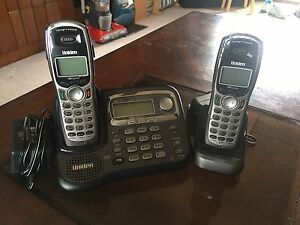 Uniden Cordless Phones x2 & Digital Answering Machine