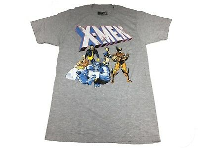 Marvel Comics Wolverine Cyclops Psylocke Professor Xavier Mens T Shirt S 2Xl
