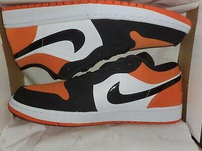 New Nike Jordan 1 Low Shattered Backboard 553558-128 Men Size 13