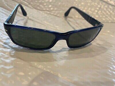 Vintage Persol Sunglasses - Dark Blue Frame - 100% authentic