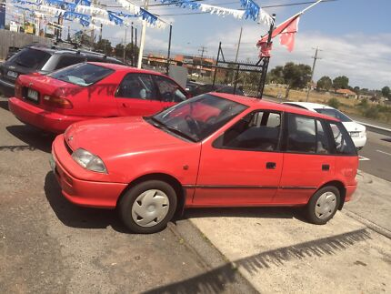 Holden Barina Manual 1993 Carrum Kingston Area Preview