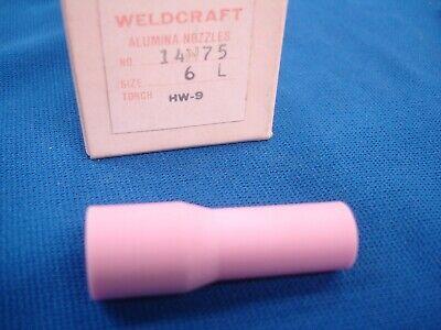 9 Linde 14n75 Tig Welding 6l Alumina Nozzle List 176