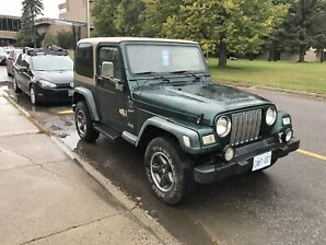 2000 Jeep TJ sport (price to sell)