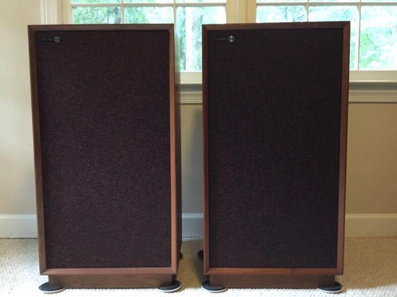 Vintage 1969 Rectilinear III Highboy Speakers — Local Pickup