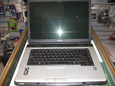 TOSHIBA SATELLITE L300D-01P  LAPTOP-NOT WORKING FOR PARTS OR REPAIR