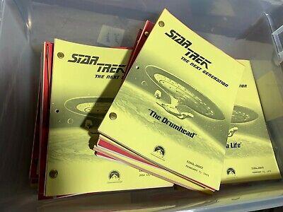 $20 VINTAGE SCRIPT BLOWOUT -- Star Trek The Next Generation -- PICK YOUR SCRIPT