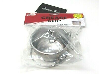 21st Century B30A6 Replacement Steel Grease Drip Cup, New in Package.