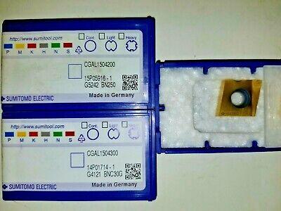 2NU-CNGA120408 BN250 CBN INSERT SUMITOMO 2NUCNGA432 BN250