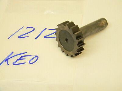 Used Keo Usa Hss Woodruff Keyseat Cutter 1212 1-12 X 38
