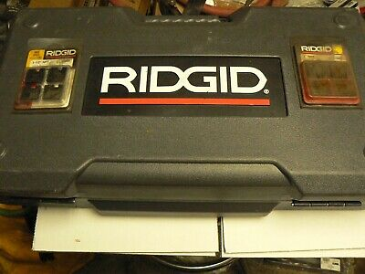 Ridgid Pipe Threader Die Set 12 To 2 Dies Heads Ridgid Pipe Threader Lot B