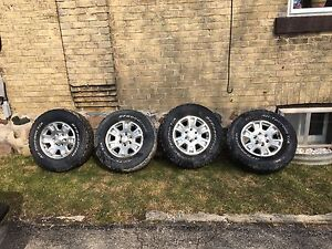 265 70  17 tires and rims