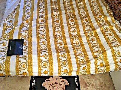 VERSACE MEDUSA DUVET COVER BEDDING NEW in BAG LOVER LUXURY GIFT IDEA SALE