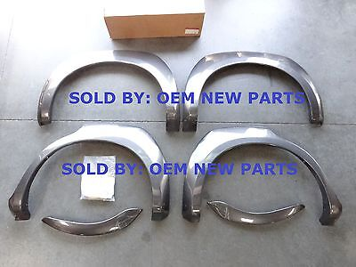 2006 2010 Kia Sportage Lx Only Front And Rear Fender Flare Set Genuine Oem New