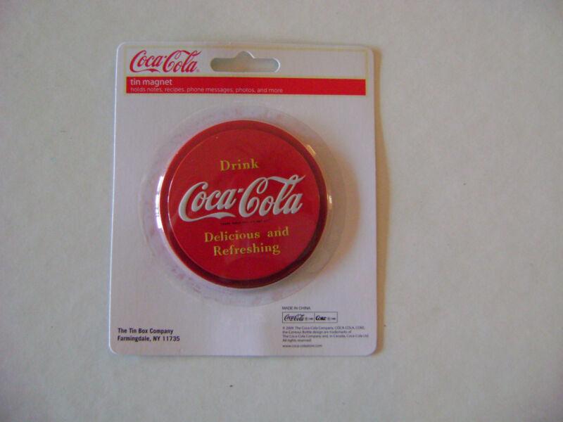 Coca-Cola Magnet-Round Shape