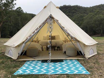 Belle Gl&ing u0026 Decor & bell tent in Newcastle Region NSW | Gumtree Australia Free Local ...