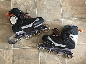 Men's Rollerblades Size 8 + Firefly Protective Guards (NEW)