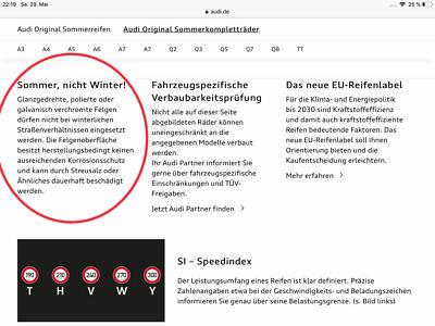 Audi OE-Felgen