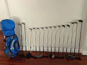 Wilson Men's Golf Club set with Srixon & Callaway Woods