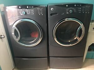 $125 PRICE DROP Used GE Electric Washer & Dryer