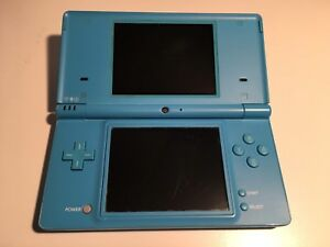 Blue Nintendo DSi with Charger