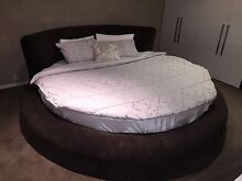 Round bed fit for a King Southbank Melbourne City Preview