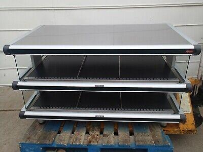 Hatco Glo-ray Gr2sds-48d 2 Tier Food Display Warmer Heated Tray Self Serve