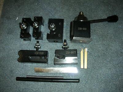 Premium Atlas Craftsman 6 Inch Swing Lathe 0xa Quick Change Tool Posttooling