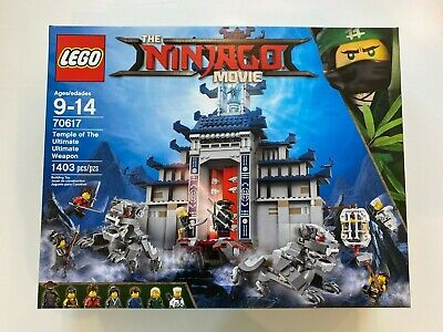 LEGO Ninjago Temple Of The Ultimate Weapon 70617 New Sealed