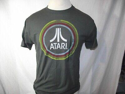 Atari Mens Medium Vintage Look Logo Ripple Junction T-Shirt Gamer NWT