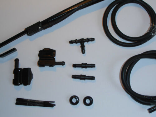 Windscreen Washer Jets Conversion Kit LEXUS (from bonnet/scuttle to Wiper Arms)