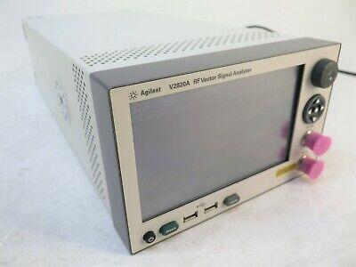 Agilent 2820 V2820a 6ghz Rf Vector Signal Analyzer Options 506 Fpc Upn