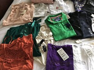 Brand new clothes size XS TO S with tags