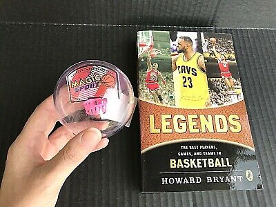 Legends: The Best Players Games and Teams in Basketball Book Gift Combo NEW