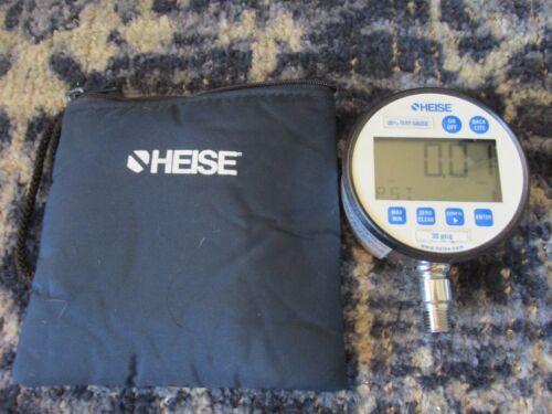 Heise 3089 Pressure Test Gauge 30 PSIG for Pressure Calibration Service