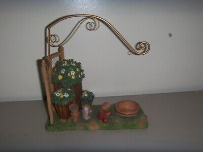 YANKEE CANDLE TART BURNER THE GARDEN HANGING WAX WARMER NO BASKET